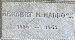Herbert M Haddock