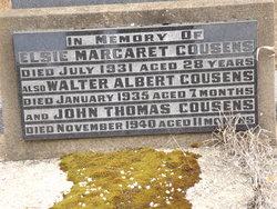 Elsie Margaret <I>Hart</I> Cousens