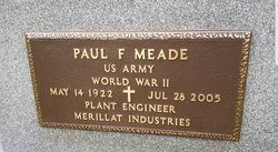 Paul F Meade