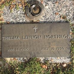 Thelma <I>Lennon</I> Northrop