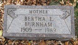 Bertha Edith <I>Willardson</I> Burnham