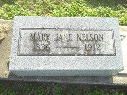 """Mary Jeanette """"Jane"""" <I>Bell</I> Nelson"""
