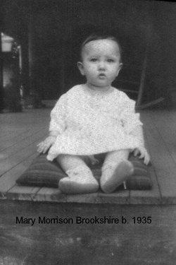 Mary Elizabeth <I>Morrison</I> Brookshire