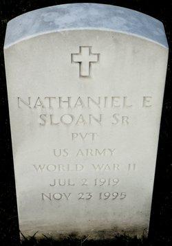 Nathaniel E Sloan, Sr