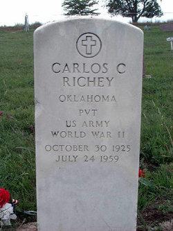 """Carlos Clyde """"Carl"""" Richey"""
