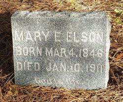 Mary E Elson