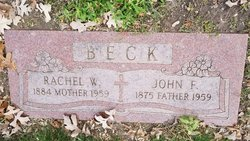 Rachel Wilhelmina <I>Johnson</I> Beck