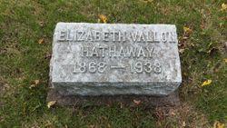 Elizabeth <I>Vallon</I> Hathaway