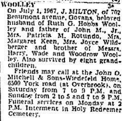 J. Milton Woolley