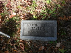 Martha Ellen Taylor