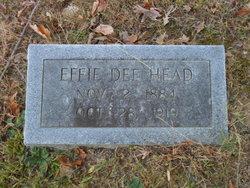 Effie Dee Head