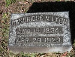Dandridge M Lyon