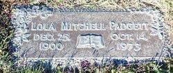Lola <I>Mitchell</I> Padgett