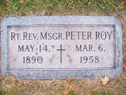 Rev Peter Roy Kennedy