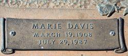 Marie <I>Davis</I> Scott