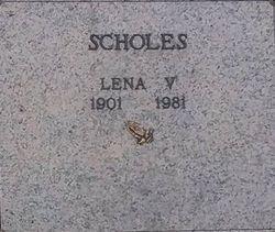 Lena V. Scholes