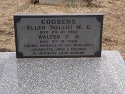 "Ellen Mary Emily ""Nellie"" <I>Collins</I> Cousens"