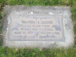 Walter E Kline