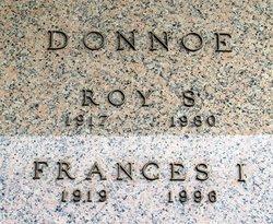 Frances I. <I>Bayless</I> Donnoe