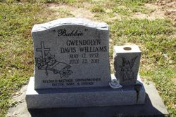 "Gwendolyn ""'Bubbie'"" <I>Davis</I> Williams"