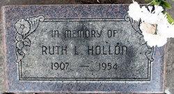 Ruth R <I>Lankford</I> Hollon