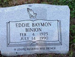 Eddie Baymon Binion