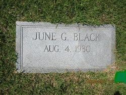 June <I>Goodwin</I> Black