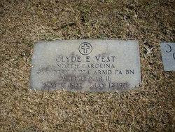 Clyde E Vest