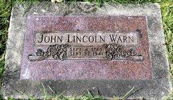 John Lincoln Warn