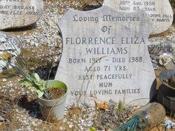 Mrs Florrence Eliza <I>Watson</I> Williams