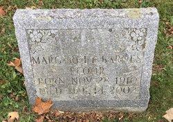 Margaret F <I>Barnes</I> Pfoor