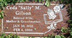 """Ceda """"Sally"""" Gilson"""