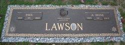 Annie Irene <I>Gayer</I> Lawson