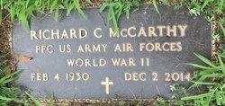 PFC Richard C McCarthy
