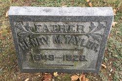 Henry M Taylor