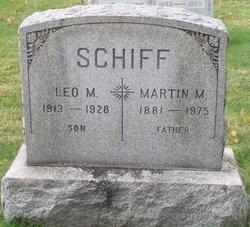 Martin M Schiff