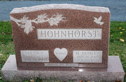H Dudley Hohnhorst