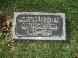Jennie <I>Lambert</I> Hartenbower