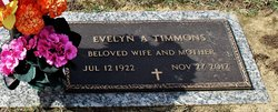 Evelyn A. Timmons