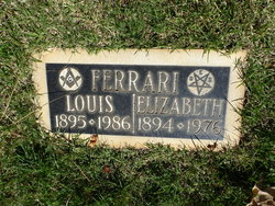 Elizabeth A Ferrari