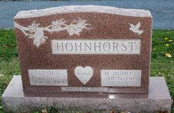 Sarah E Hohnhorst