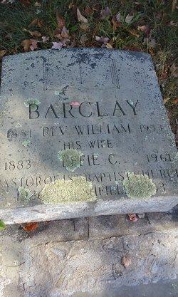 Rev William Barclay