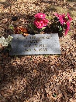 Cora Lee <I>Lockey</I> Privett