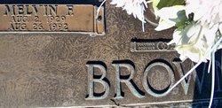 Melvin F. Brown, Sr