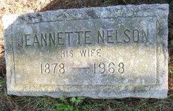 Jeannette Augusta <I>Essler</I> Nelson