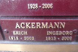 Ingeborg Ackermann