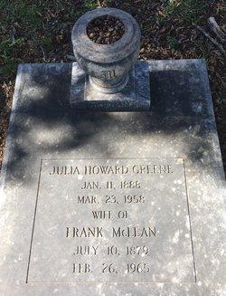 Julia Howard <I>Greene</I> McLean