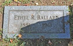 Ethel R Ballard