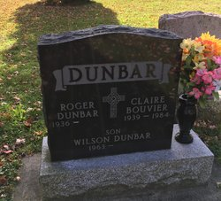 Claire <I>Bouvier</I> Dunbar