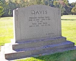 Nina Jane <I>Lewis</I> Davis